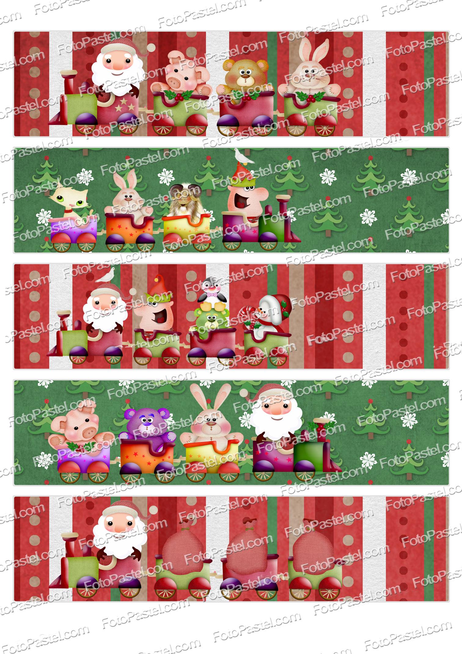 Hoja Decorada Navidad